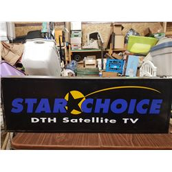 Starchoice Lighted Sign