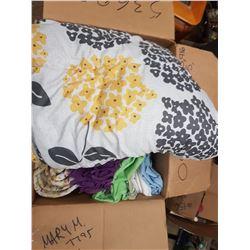 Box Lot Linens & Blankets