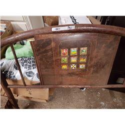 Antique Headboard & Rails