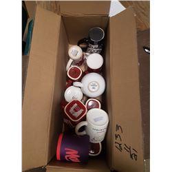 Lot Assorted Coffee Mugs