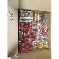 Lot Christmas Decorations