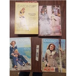 Lot Vintage Eatons Catalouges