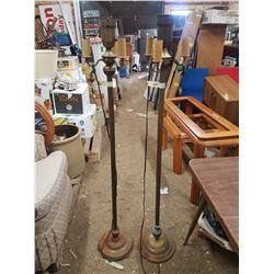 2X  Vintage Floor Lamps