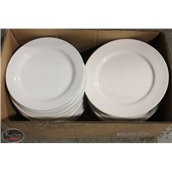 """LOT OF APPROX. 30 - 10"""" DINNER PLATES"""