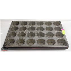 LOT OF 3 - 24 CUP MUFFIN PANS
