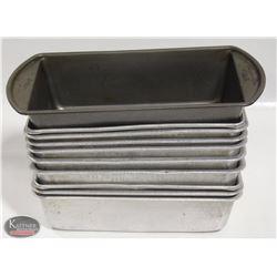 LOT OF 10 ASSORTED LOAF PANS