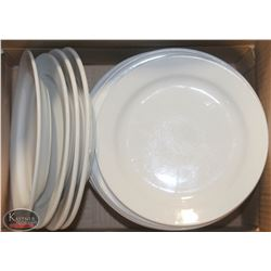 """LOT OF APPROX. 20 ASSORTED 9"""" - 10"""" DINNER PLATES"""