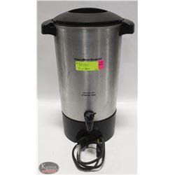 42 CUP HAMILTON BEACH COFFEE URN W/ CORD & INSERT