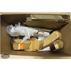 BOX OF ASSORTED TAKE OUT CONTAINERS