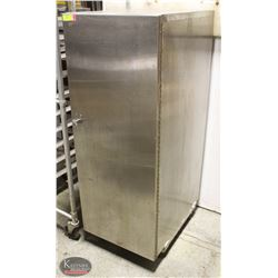 STAINLESS STEEL ENCLOSED TRAY RACK W/ 12 TRAYS