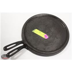 """LOT OF TWO 10-3/4"""" CAST IRON HOTPLATE"""