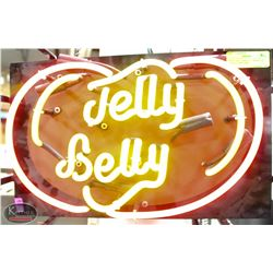 """NEON """" JELLY BELLY"""" DESIGN AD DISPLAY SIGN *NOT"""