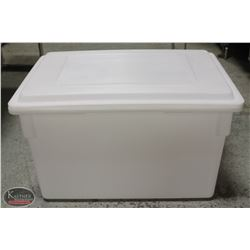 LARGE CAMBRO FOOD GRADE STACKING BIN W/ REVERSIBLE
