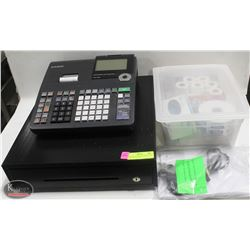 PCR-T500 CASIO ELECTRONIC CASH REGISTER W/ KEYS