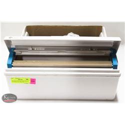 WRAPMASTER 3000 DISPENSER W/ CUTTER & FULL BOX OF