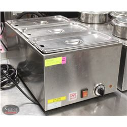 STAINLESS STEEL 1200W FULL SIZE ELEC. FOOD WARMER