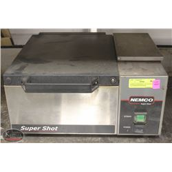 NEMCO SUPER SHOT COUNTERTOP PAN PORTION STEAMER