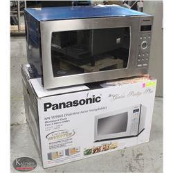 LIKE-NEW IN BOX PANASONIC 2.2CU MICROWAVE- 1200W