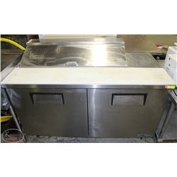 5' TRUE STAINLESS STEEL REFRIGERATED PREP-STATION