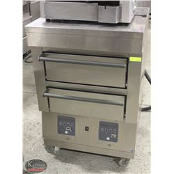 GARLAND DOUBLE DECK STEAMER OVEN W/ COUNTER TOP