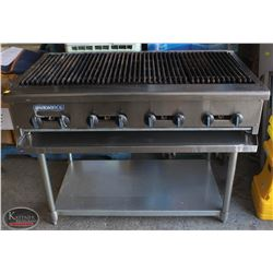 "RADIANCE 48"" NATURAL GAS COUNTER TOP CHARBROILER"