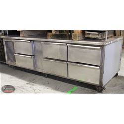6' COMMERCIAL 6-DRAWER REFRIGERATED CHEF'S BASE