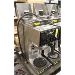 BUNN S SERIES COMMERCIAL COFFEE MAKER W/ 3 BURNERS