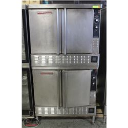 STANDING BLODGETT DUAL CONVECTION OVEN - NAT. GAS