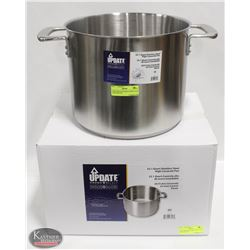 NEW UPDATE INTERNATIONAL 20 QT S/S STOCK POT