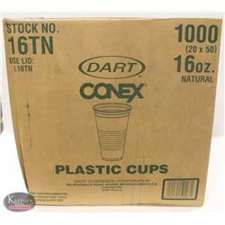 CASE OF 1000 DART CONEX 16 OZ PLASTIC CUPS