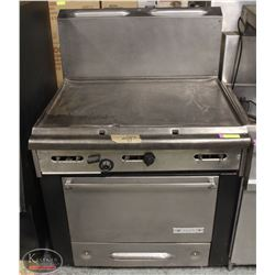 """GARLAND NATURAL GAS COMMERCIAL 36"""" GRIDDLE OVEN"""