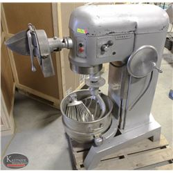 HOBART 60QT COMMERCIAL MIXER W/ BOWL & ATTACHMENTS