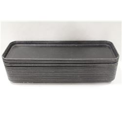 APPROX 18 CARLISLE FIBERGLASS COOLER DISPLAY TRAYS
