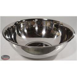 NEW WINCO 30 QT STAINLESS STEEL MIXING BOWL