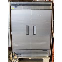 NEW ATOSA 2-DOOR S/S UPRIGHT REFRIGERATOR