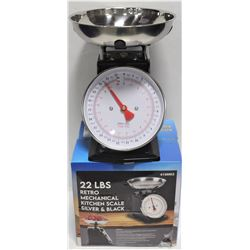NEW 22LBS RETRO MECHANICAL DIAL WEIGH SCALE