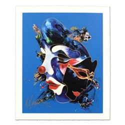 "Martiros Manoukian, ""Always Together"" Limited Edition Serigraph, Numbered and Hand Signed with Certi"