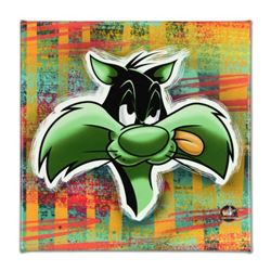 "Looney Tunes, ""Sylvester"" Numbered Limited Edition on Canvas with COA. This piece comes Gallery Wrap"