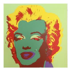 "Andy Warhol ""Marilyn 11.25"" Silk Screen Print from Sunday B Morning."