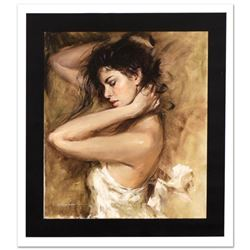 """Simply Stunning"" Limited Edition Hand Embellished Giclee on Canvas by Andrew Atroshenko, Numbered a"
