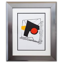 """Alexander Calder- Lithograph """"DLM221 - Composition géométrique"""""""