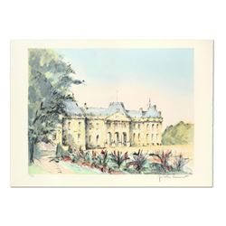 """Laurant, """"Chateu Leunville"""" Limited Edition Lithograph, Numbered and Hand Signed."""
