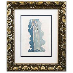 "Salvador Dali- Original Color Woodcut on B.F.K. Rives Paper ""Paradise 22"""