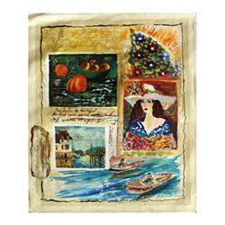 "Olga Roubin- Original Acrylic On Canvas ""Memory"""