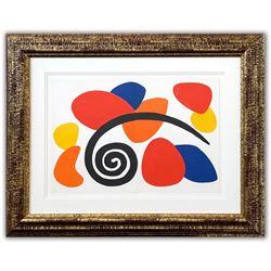 "Alexander Calder- Lithograph ""DLM173 - Composition VII"""