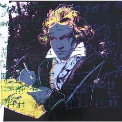 "Andy Warhol- Screenprint in colors ""Beethoven 393, 1987"""