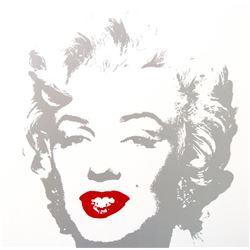 """Andy Warhol- Silk Screen """"Golden Marilyn 11.35"""""""