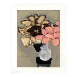 "Brenda Barnum, ""Tulip & Pink Flower"" Limited Edition Serigraph, Numbered and Hand Signed with Certif"