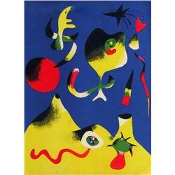 """Joan Miro- Lithograph """"L'air"""""""