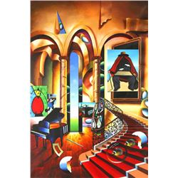 """Ferjo """"Conclave of the Masters"""" Giclee on Canvas"""